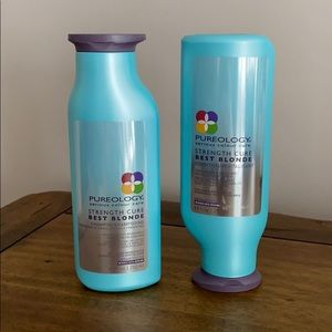 New Set of Pureology Strength Cure Best Blonde